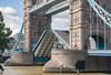 Tower Bridge opening for the Dixie Queen