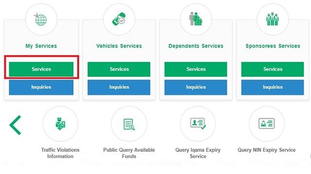 1036 Procedure to Renew Saudi Driving License Online through MOI 01