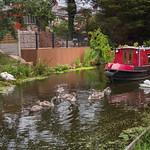 lancaster canal scene