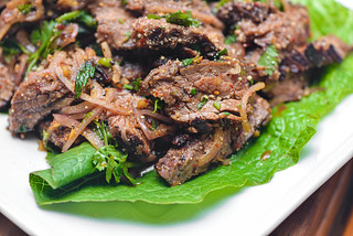 Nam Tok: Thai Beef Waterfall Salad