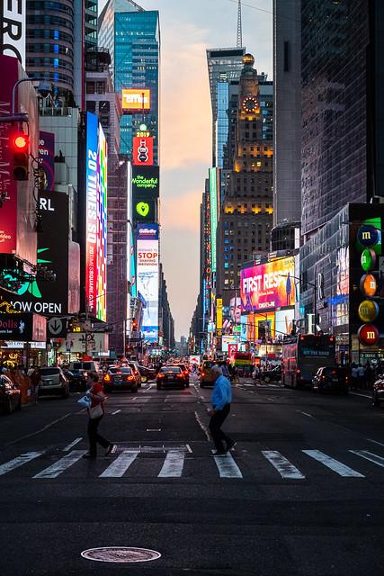 Un soir à Times Square