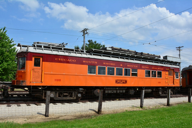 Illinois Ry Museum #1100