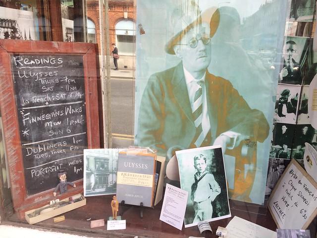 Window Display at Sweny's Pharmacy