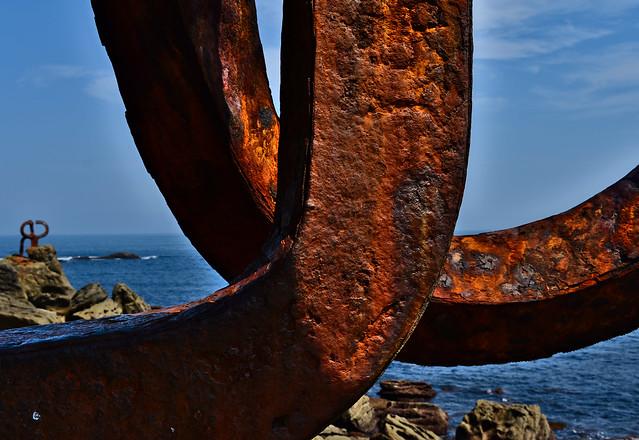 Peine oxidado