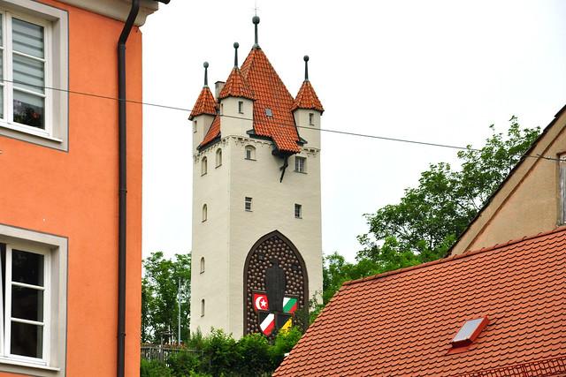 """Juli 2019 - Kaufbeuren im bayerischen Regierungsbezirk Schwaben ... """"Tor zum Allgäu"""" ... Foto: Brigitte Stolle"""