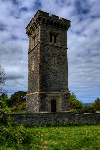 ALBERT TOWER, ALBERT MOUNT, RAMSEY, ISLE OF MAN.