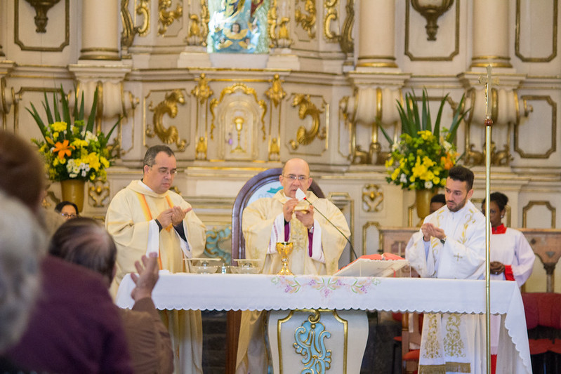 Missa em honra à São Bento - 11/07/2019