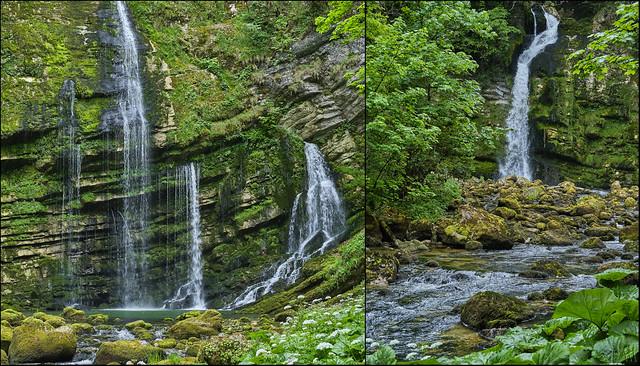 cascades de Flumen