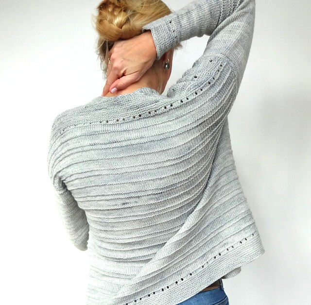 Hinterm Stein's Holey Comfort cardigan