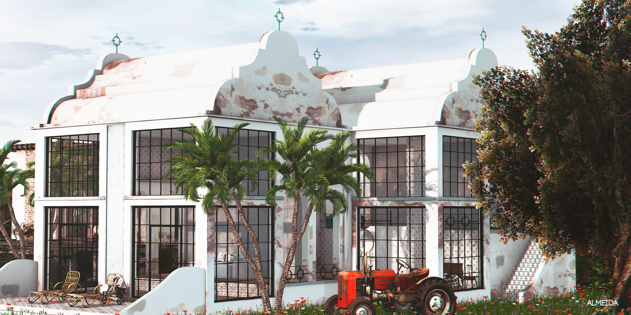 Lucia Cape House