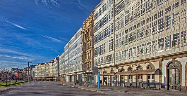 Galerías de la Avenida da Mariña, A Coruña