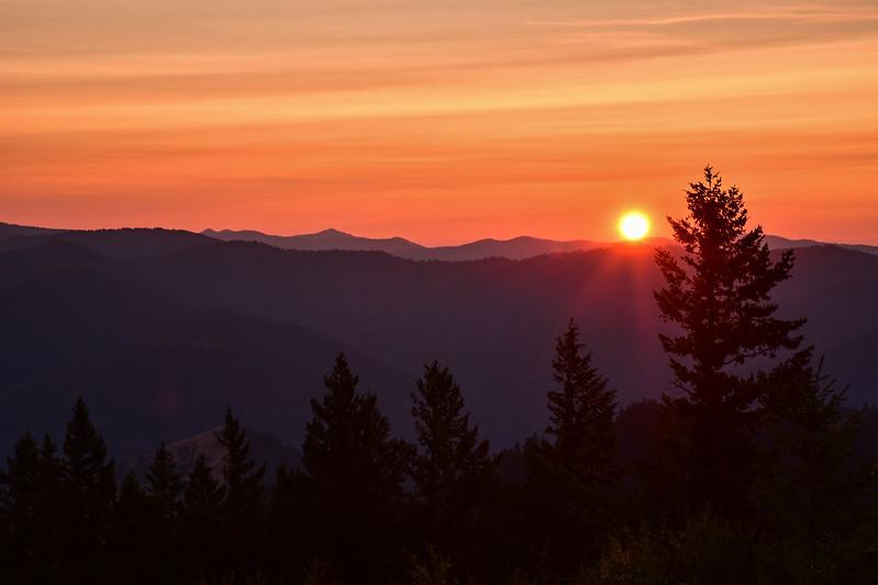 Squaw Peak Sunset