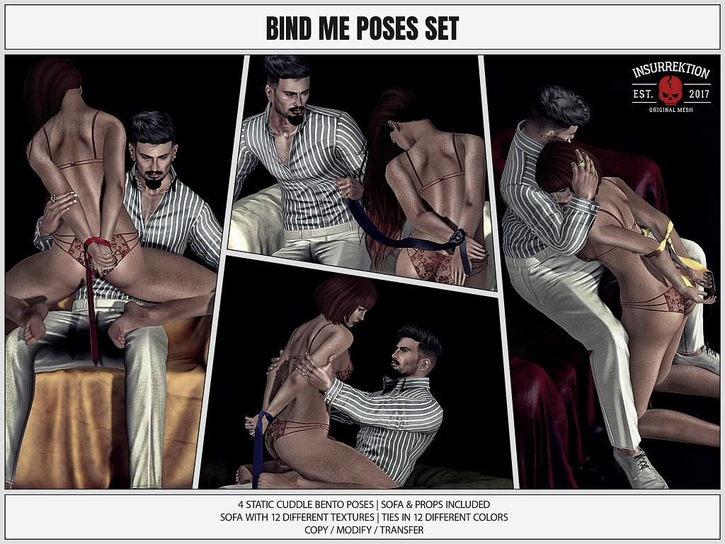 [IK] Bind Me Poses Set