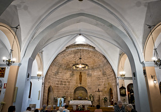 Queda clar que l'absis és romanic / The apse is clearly romanesque