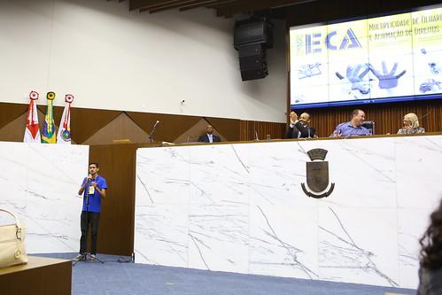 Seminário para discutir sobre a importância do Estatuto da Criança e do Adolescente, com o tema: ECA - Comissão de Direitos Humanos e Defesa do Consumidor