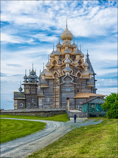 Kizhi Island, the charm of ancient wooden churches ... (2)