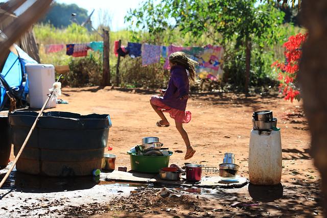 Profissionais de saúde visitam comunidade cigana em Sobradinho