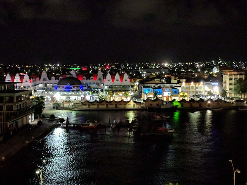 aruba cruising cruise carnivalcruiseline caribbeancruising caribbeansea caribbeanisland oranjestad oranjestadatnight nightview arubaharbor oranjestadharbor