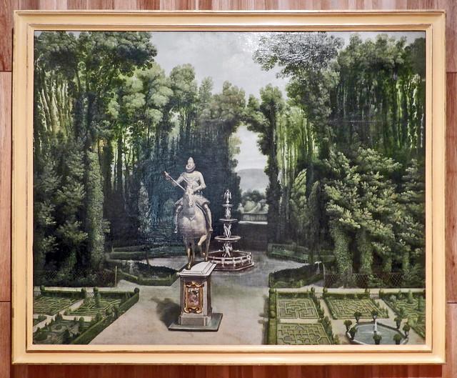 jardines de la Casa de Campo 1601-1650 Museo de Historia de Madrid