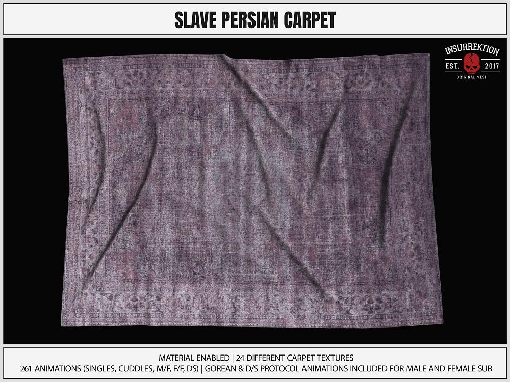 [IK] Slave Persian Carpet