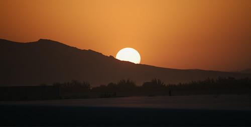 afghanistan middleeast kandahar mountain sun sunset landscape canon canon7d