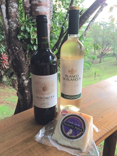 Taberno Blanco de Blancos  and Indomita Carmenere