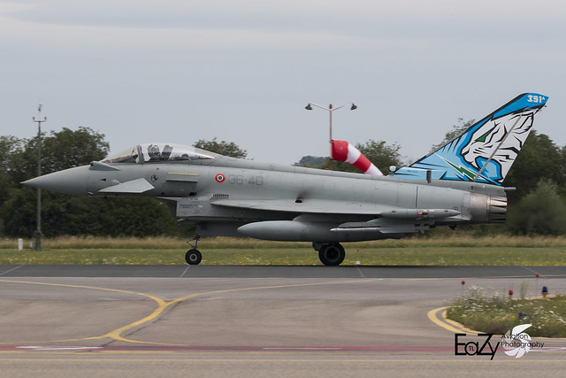 MM7322 Italian Air Force (Aeronautica Militare) Eurofighter F-2000A Typhoon