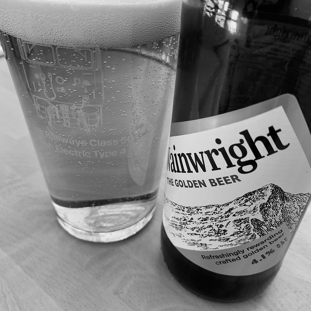 Friday evening beer