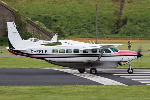 Cessna 208B Grand Caravan G-EELS | by Peter Starling