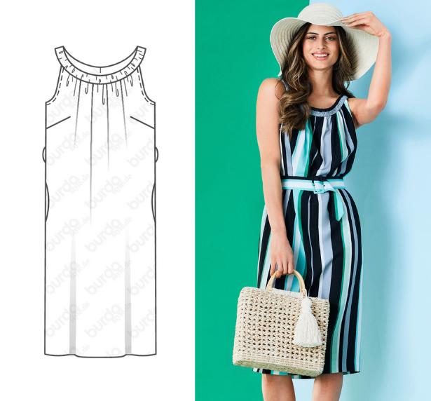 July Retro Dress PATTERN
