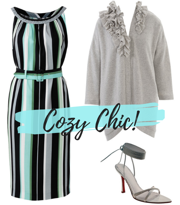 July Retro Dress COZY CHIC