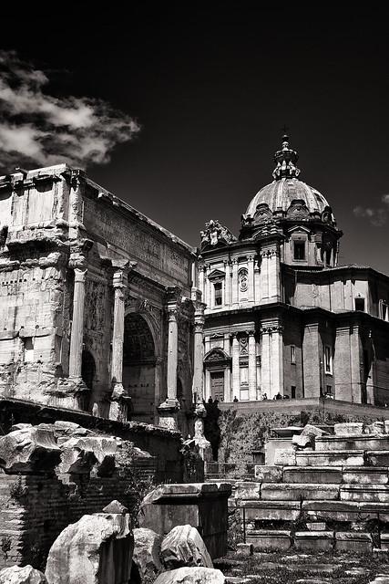 Settimio Severo, Luca e Martina - Roma