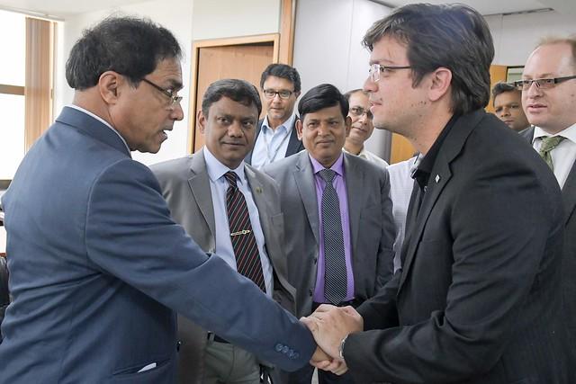 Visita do Ministro de Educação de Bangladesh a SEEDF