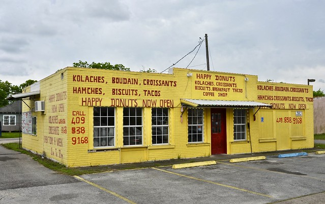 Happy Donuts - Beaumont, Texas.