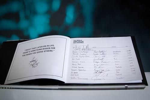 OSRJE ledger of signatures