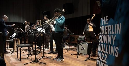 Oberlin Sonny Rollins Jazz Ensemble Inauguration Nov. 15, 2018