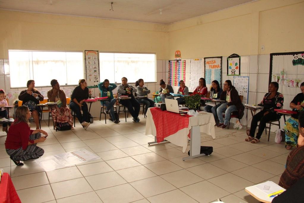 Oficina de capacitação na Escola Municipa Ulisses Guimarães, em São José de Alcobaça (1)
