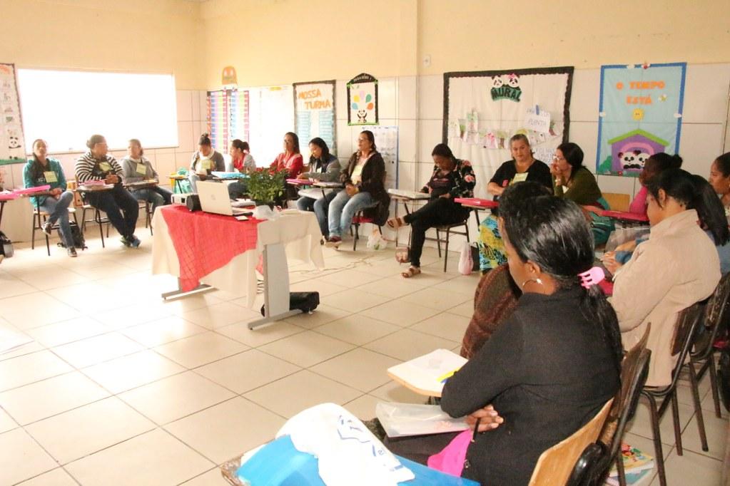 Oficina de capacitação na Escola Municipa Ulisses Guimarães, em São José de Alcobaça (2)