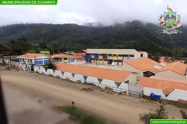 Municipalidad de Echarati entrego moderna infraestructura educativa en Kepashiato