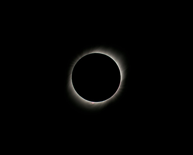 Totality - July 2, 2019 4:40 PM CLT