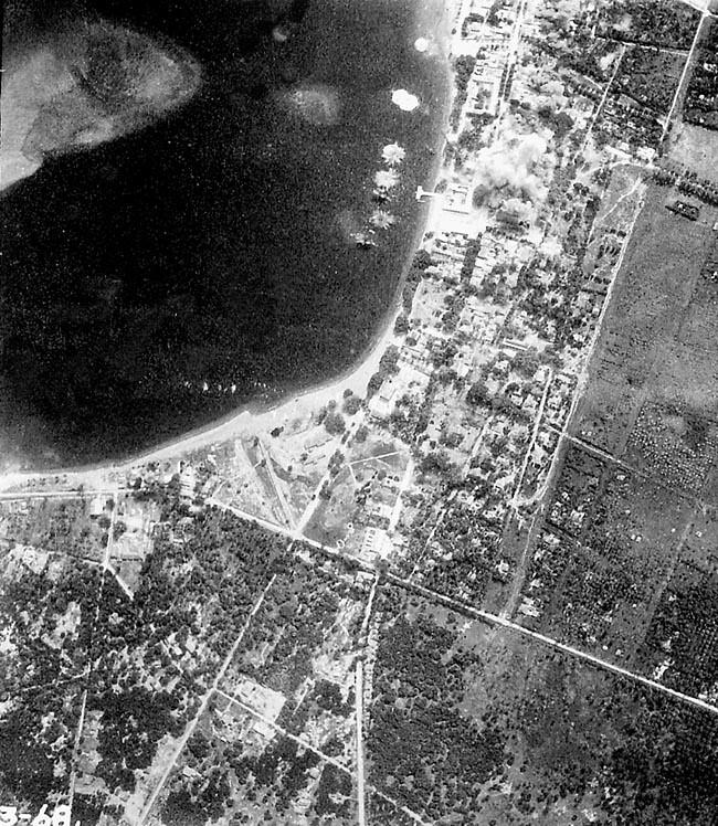 Bombing Timor