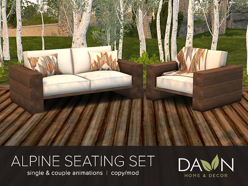 Alpine Seating Set | DAWN
