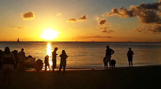 Waikiki Sunset Watchers
