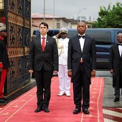 Presidente de Guinea Ecuatorial recibe cartas credenciales de embajador venezolano Nelson Ortega