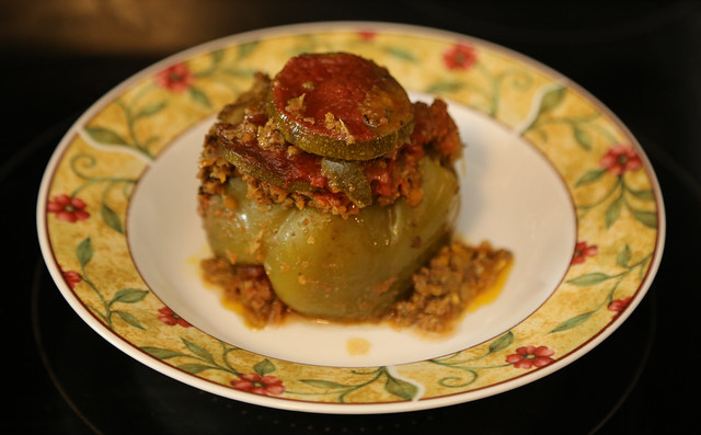 Her highness - KETO stuffed pepper