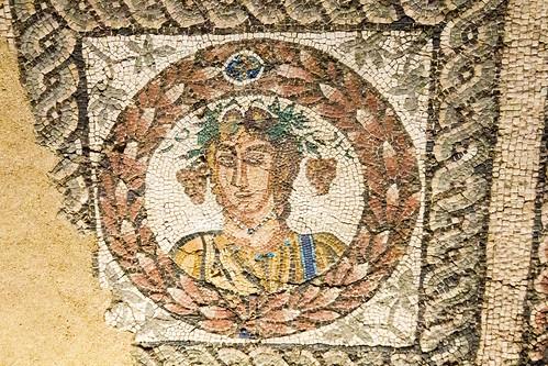 Mosaico romano Cuatro Estaciones Museo de San Isidro o de los Origenes de Madrid 06