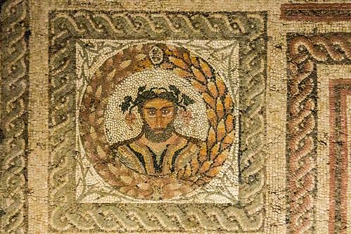 Mosaico romano Cuatro Estaciones Museo de San Isidro o de los Origenes de Madrid 07