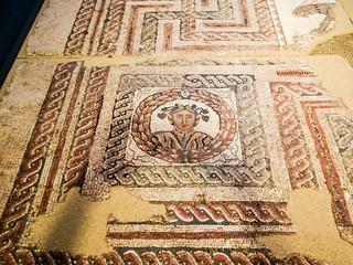 Mosaico romano Cuatro Estaciones Museo de San Isidro o de los Origenes de Madrid 02
