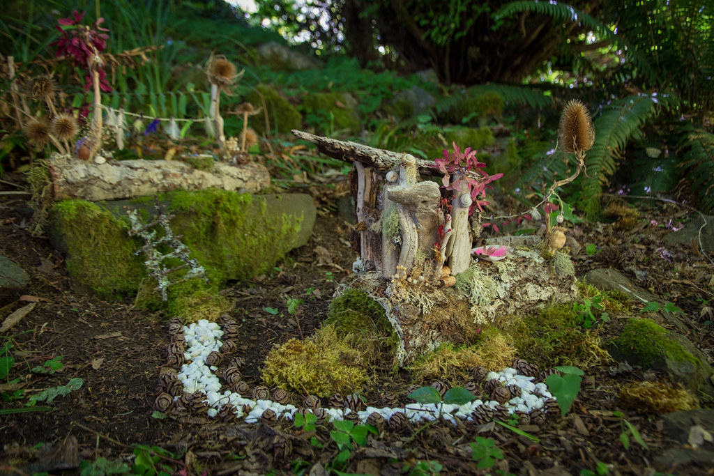 Fairy House at Milner Gardens