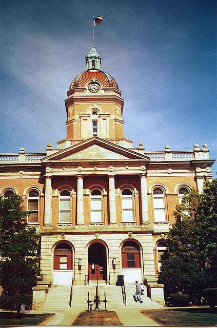 Elkhart County Courthouse -  Elkhart Indiana - Historic